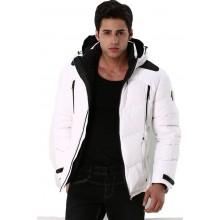 Мужская куртка-пуховик зимняя ENRICO BELENO 4526 OVERCOAT WHITE